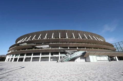Renovasi Tokyo National Stadium Habiskan 70 Ribu Kubik Kayu