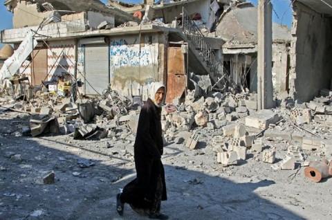 Serangan Artileri Suriah Tewaskan 14 Warga Sipil