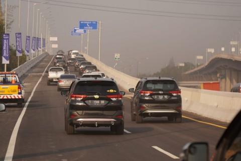 Tol Layang Japek Sanggup Alirkan 2.600 Kendaraan per Jam