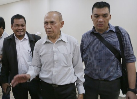 Hakim Tunda Sidang Eksepsi Kivlan Zen