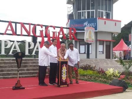 Jokowi inaugurates Manggar Waste Disposal Area in Balikpapan