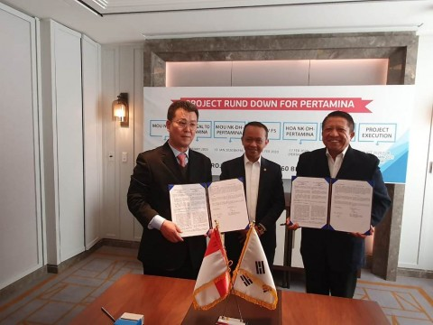 Perusahaan Indonesia Teken Kontrak Kerja Sama dengan Korsel Rp61,2 Triliun