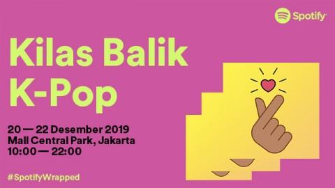 Spotify Gelar Pesta Kilas Balik untuk Penggemar K-Pop di Indonesia