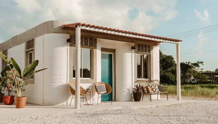Desain Rumah Murah Yang Dicetak 3d