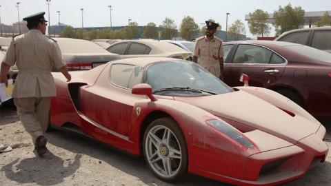 Banyak Supercar Tak Bertuan di Dubai