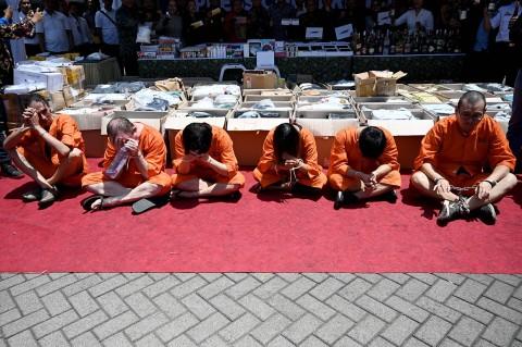 Bea Cukai Ngurah Rai Ringkus 6 WNA Penyelundup Narkoba
