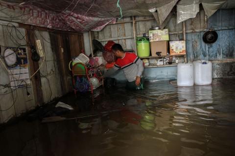 Banjir Rendam Sejumlah Desa di Kampar Riau