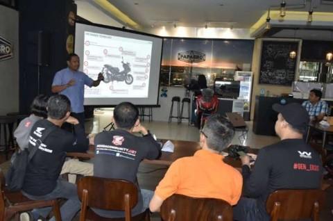 Wahana Honda Ajak Blogger & Vlogger Melek Teknologi Otomotif