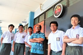 SMA Marsudirini Bekasi Kembali Juarai Turnamen HSL 2019