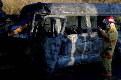 Kecelakaan Lalu Lintas di Meksiko Tewaskan 14 Orang