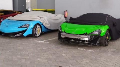 2 Mobil Mewah Disita Polda Jatim Milik Kedutaan