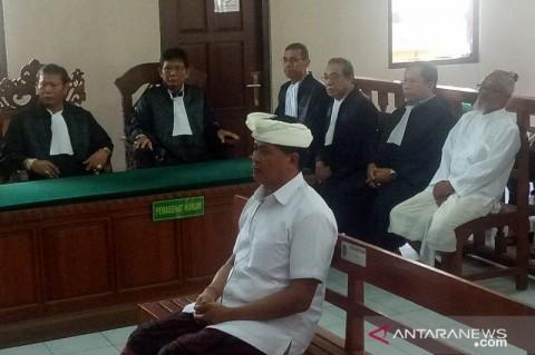 Eks Wagub Bali Divonis 12 Tahun Penjara