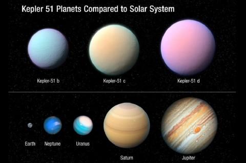 Misteri Planet Kembang Gula Terungkap dalam Pengamatan Hubble Baru