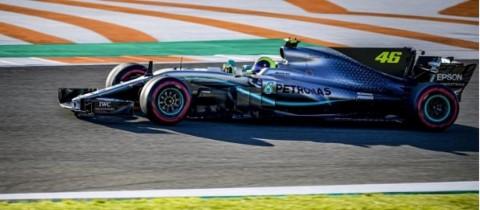 Jajal Mobil F1, Valentino Rossi Menuai Pujian