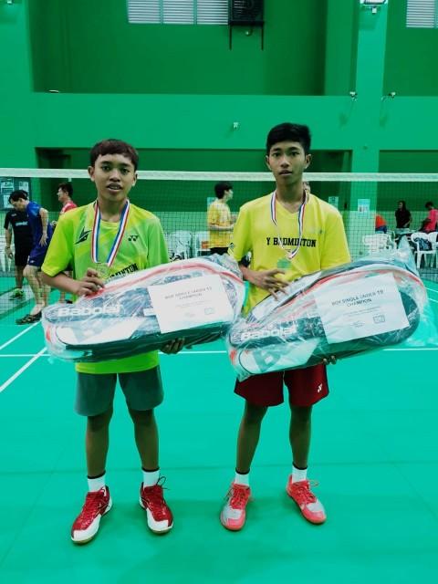 Siswa Madrasah dari Probolinggo Juara Badminton di Singapura