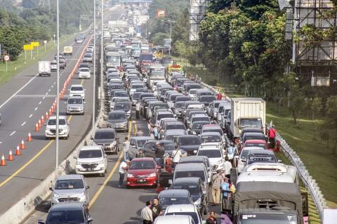 Jalur Puncak Bogor Macet