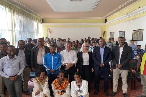 Dubes RI Bangkitkan Semangat Kebersamaan Pemuda Ethiopia