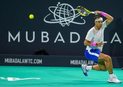 Rafael Nadal Juara Mubadala World Tennis Championship 2019