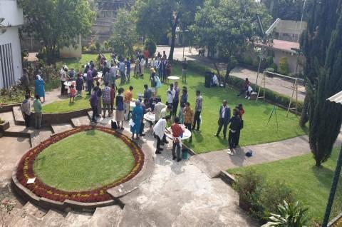 Kemeriahan Lomba Masak Nasi Goreng di KBRI Addis Ababa