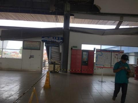 Akses Barat Peron Stasiun Serpong Ditutup Sementara