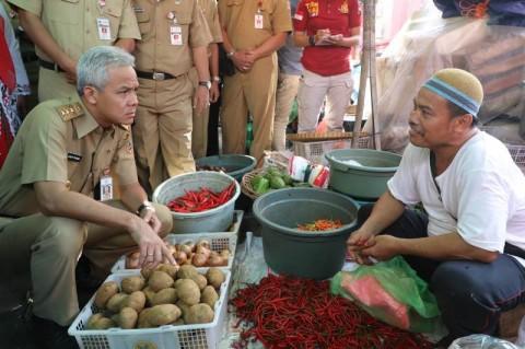 Harga Bawang Merah dan Cabai di Semarang Naik