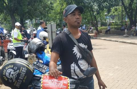 Pedagang Monas Pasrah Dapat 'Hadiah' BPRD DKI