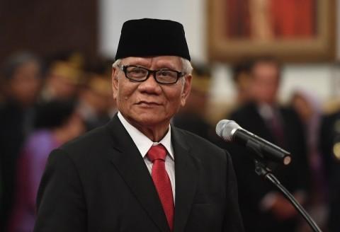 Harjono Pamit dari DKPP Demi Fokus di Dewas KPK