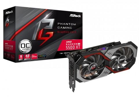 ASRock Rilis Radeon RX 5500 XT