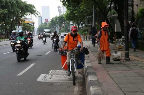 DKI Kerahkan 3.150 Petugas Kebersihan Jelang Natal