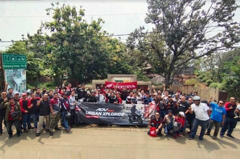 Komunitas Honda ADV Indonesia Jaga Solidaritas dengan Kegiatan Amal
