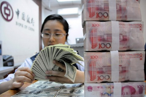 Yuan Tiongkok Digilas Dolar AS