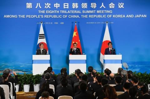Tiongkok Bahas Isu Korut Bersama Korsel dan Jepang