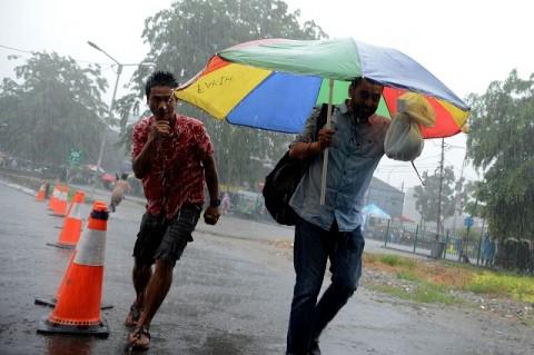 Hujan Bakal Guyur Jakarta di Hari Natal