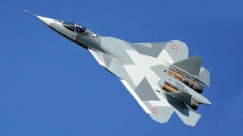 Jet Tempur Tercanggih Milik Rusia Jatuh saat Uji Terbang