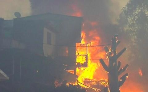 Kebakaran Hutan Valparaiso, 120 Rumah Warga Chile Hancur