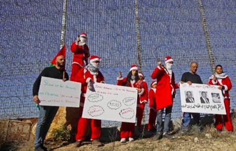 Geliat Natal di Kota Bethlehem