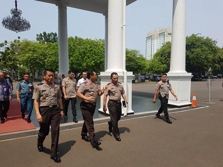 Sejumlah Pati TNI dan Polri Merapat ke Istana