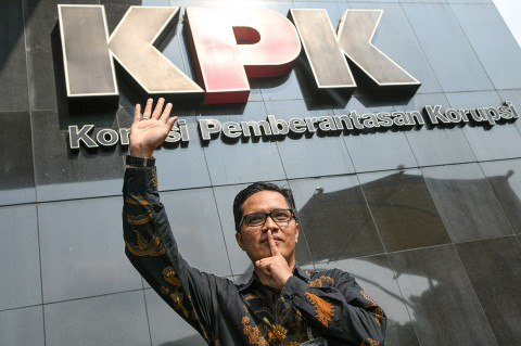 Febri Diansyah Lepas Jabatan Jubir KPK