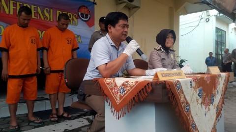 Ojol Edarkan Tembakau Gorila Ditangkap