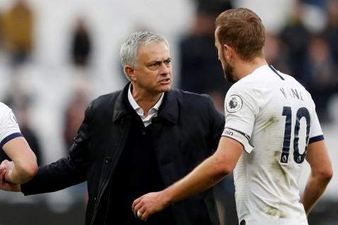 Mourinho Sanjung Kane Usai Bantu Spurs Kalahkan Brighton
