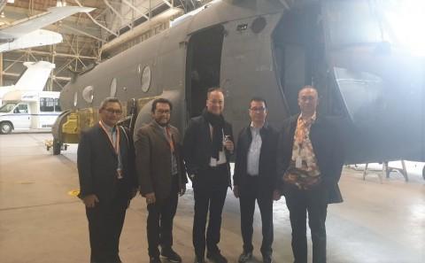 Menperin Bujuk Industri Perawatan Pesawat AS Investasi di Batam