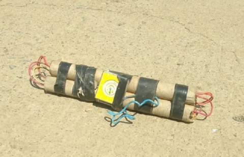 Diduga Bom Ditemukan di Pasar Takkalasi
