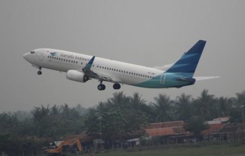Garuda Klaim Tarif Ojek <i>Online</i> Lebih Mahal dari Tiket Pesawat