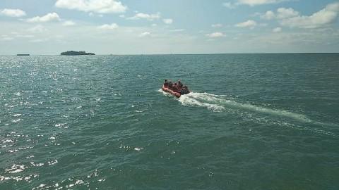 Penumpang KM Tidar Terjatuh di Perairan Takalar