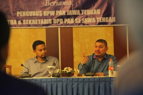 35 DPD se-Jateng Dukung Mulfachri di Kongres PAN