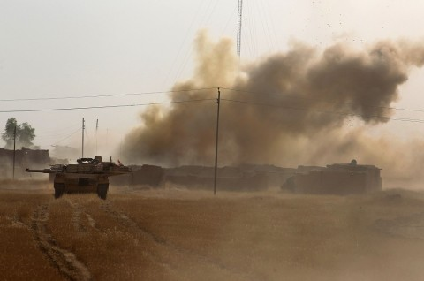 Serangan Roket Tewaskan Seorang Kontraktor AS di Irak