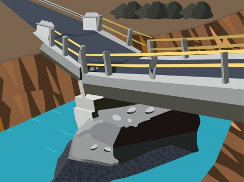 Jembatan Penghubung di Nduga Diputus KKB