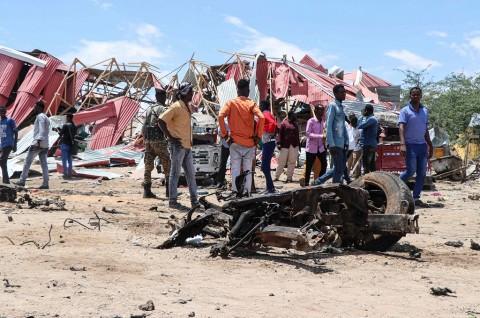 Ledakan Bom di Somalia Tewaskan Lebih dari 20 Orang