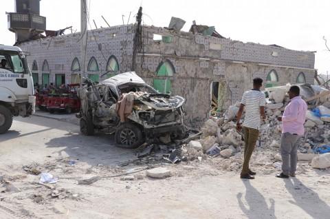 Korban Tewas Ledakan Mogadishu Jadi 30 Orang