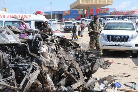 Bom Mobil Guncang Mogadishu, 70 Orang Tewas